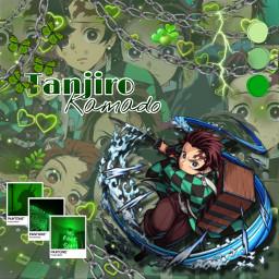 demonslayer kimetsunoyaiba tanjiro freetoedit