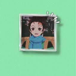 tanjiro demonslayer aestheticwallpaper animewallpaper anime weeb freetoedit