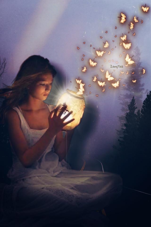 #youaremagic #hope #glow #freetoedit #ecgiantpeople #giantpeople #photoedit
