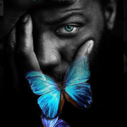 freetoedit srcbluebutterflies bluebutterflies