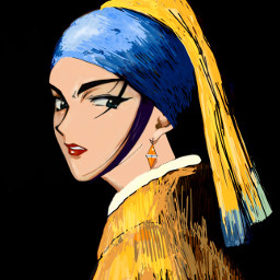 drawing digitalcolouring theprometeus vermeer cowboybebop
