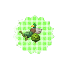 soft green turtle duck tree greensoft emojipng softcore softpng freetoedit