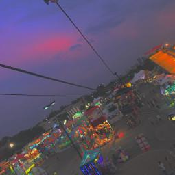 purple summer fair