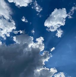 clouds cloudy sky bluesky summer pctheskyabove theskyabove