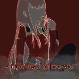 zerotwo zero_two wallpaper anime edit freetoedit