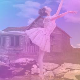 beautiful ballerina stayfree freetoedit