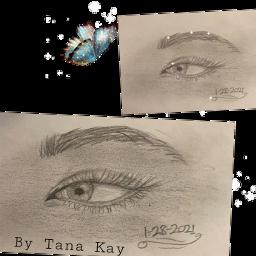sketch art eye grey gray blue butterfly bluebutterfly lookingright usa pencil paper interesting bytanakay bytanakayyt tanakay tanakayyt artbytana artbytanakay freetoedit