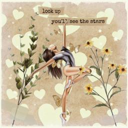 girl vintage aesthetic flower text freetoedit srcyellowhearts yellowhearts