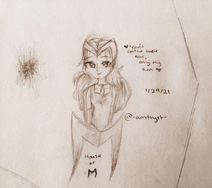 Acarlet witch :D  It's my dad's birthday  He asked to be alone so im at a friends house.... :D  Im gonna be posting a bunch of artwork so get ready?  [taglist]  [ ✯ ] @olicobusines  [ ✯ ] @allison_reylo   [ ✯ ] @-_creepypasta13_-  [ ✯ ] @i_am_potato-uwu  [ ✯ ] @baby_rainy  [ ✯ ] @lili_gachalife  [ ✯ ] @coolest_ofdacool  [ ✯ ] @emmajellis   [ ✯ ] @sapphire_artz  [ ✯ ] @-x_broken_rose_x-  [ ✯ ] @ningguang_ [ ✯ ] @rainsoar  [ ✯ ] @xxshadow_flamezxx  [ ✯ ] @miracles_are  [ ✯ ] @iloveyou30x0  [ ✯ ] @just_strawberry  [ ✯ ] @megan_3007  [ ✯ ] @what_ever_this_is  [ ✯ ] @baby_rainy  [ ✯ ] @olivia_celloplayer  [ ✯ ] @eijigoat  [ ✯ ] @nioria_nightfall  [ ✯ ] @bangtan_life2020  [ ✯ ] @-stxrdust- [ ✯ ] @savannawolf2011 [ ✯ ] @amber_wishes [ ✯ ] @sams_pie [ ✯ ] @_lichubear_ [ ✯ ] @pink-leaf [ ✯ ] @hxppy-shxdows [ ✯ ] @__bxss_bxtch__ [ ✯ ] @floralbutterfly [ ✯ ] @_xxbxtch_ [ ✯ ] @lichubear0704 [ ✯ ] @x_oof-natalia_x [ ✯ ] @_-sxft_cloud-_ [ ✯ ] @__mccnlight [ ✯ ] @strawbxrry_clouds [ ✯ ] @lilchick_2018 [ ✯ ] @i_like_ya_cut_g_ [ ✯ ] @sunny_rxse [ ✯ ] @mxxnlynx [ ✯ ] @darkunicon52 [ ✯ ] @-_naughty-lemon_- [ ✯ ] @_milkq [ ✯ ] @-positiqns [ ✯ ] @_-snoopy_- [ ✯ ] @_-x_someone_x-_ [ ✯ ] @xxcarlos_gachaxxpimp [ ✯ ] @itz_meh_darkunicorn   𝗰𝗼𝗺𝗺𝗲𝗻𝘁 💟 𝘁𝗼 𝗷𝗼𝗶𝗻   𝗰𝗼𝗺𝗺𝗲𝗻𝘁 ☮️ 𝘁𝗼 𝗰𝗵𝗮𝗻𝗴𝗲 𝘆𝗼𝘂𝗿 𝘂𝘀𝗲𝗿 𝗰𝗼𝗺𝗺𝗲𝗻𝘁 ☪️ 𝘁𝗼 𝗹𝗲𝗮𝘃𝗲  ʟᴇᴀᴠɪɴɢ ᴀʟʀᴇᴀᴅʏ?    {ʏᴇs} ɴᴏ    𝓖𝓸𝓸𝓭 𝓑𝔂𝓮! 𝓗𝓸𝓹𝓮 𝓨𝓸𝓾 𝓗𝓪𝓿𝓮 𝓐 𝓝𝓲𝓬𝓮 𝓓𝓪𝔂/𝓝𝓲𝓰𝓱𝓽!   🆃🅰🅶🆂 : #traditionalart #art #drawing #sketch #pencil #paper #scarletwitch #wanda #wandamaximoff #mcu #marvel #superhero #power #wandavision #comics