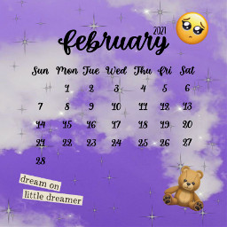 february february2021 februarycalendar februarycalendar2021 freetoedit