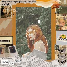 aesthetic renaissanceportrait renaissance orangeaesthetic orangejuice girl harrypotter freetoedit