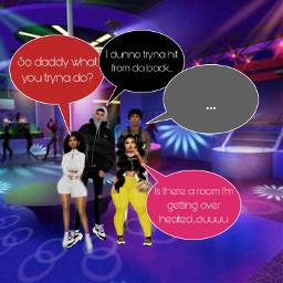 interesting atdaclub gettingheat imvu club night party friday people music boys girls room where lol freetoedit
