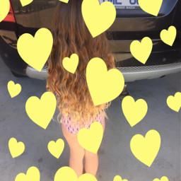 challenge freetoedit mylonghair remixit srcyellowhearts yellowhearts