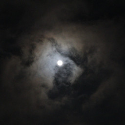 nightskyclouds moon dark magic photography pctheskyabove theskyabove