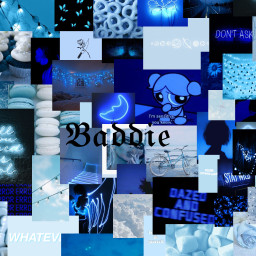 plzfollowandlike plzcomment plzlike blue aesthetic collage