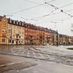 karlsruhe city rain houses freetoedit
