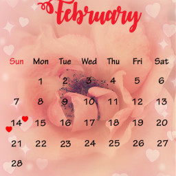 hearts februarycalendar freetoedit srcfebruarycalendar2021 februarycalendar2021