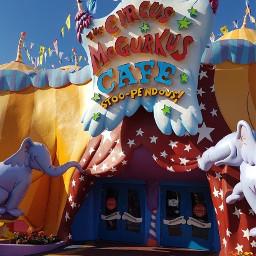 drseuss seuss seusslanding circus cafe