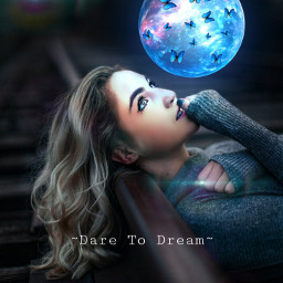 girl dream dreams imagine daretodream believe pretty beautiful freetoedit