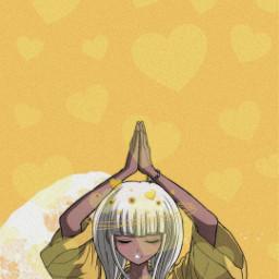 yellowhearts angieyonaga danganronpav3 freetoedit srcyellowhearts