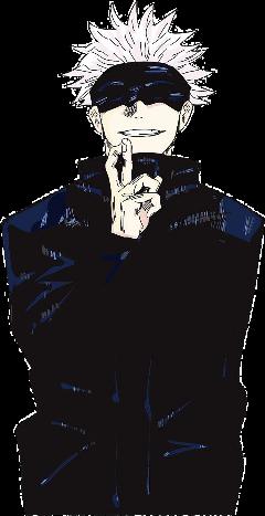 gojousatoru jujutsukaisen anime gojou freetoedit