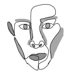 freetoedit lineart lineartface