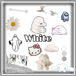 white color whiteaesthetic freetoedit
