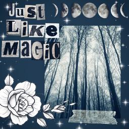 justlikemagic moon flower freetoedit