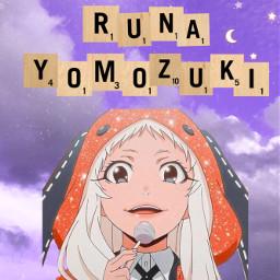 runa anime animegirl animeruna runayomozuki yomozuki athesic athesticedit athesticedits athesticbackground background wallpaper moon clouds pleaseremix freetoedit