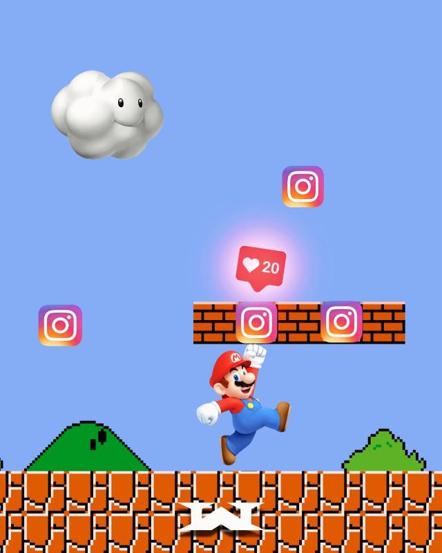 #mariobros #instagram #game