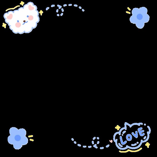 #overlay #cute #interesting #art #blue #babyblue #kawaii #flowers #love #quote #bubble #lines #aesthetic #aestheticedit #panda #sheep #cat #white #overlaysticker
