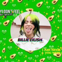 billieeilish green wishyouweregay freetoedit