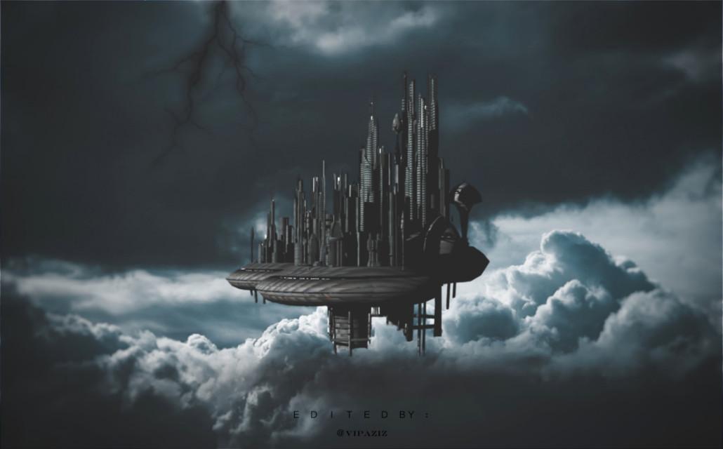 ♣️ - - - - - - - - - - - - - - -    #dark #city  #sky #clouds   #unsplash #cloud #gray #graysky #grayaesthetic #picsart #cinmatic #Lightning #skyblue #darkblue #darkside #darkness #darkaesthetic #darkart #fly #flying  #