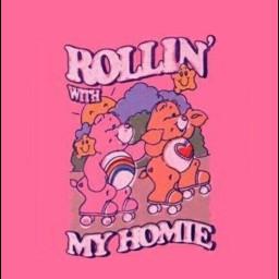 bears rolling pink