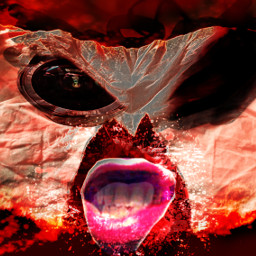 epic horror scary awesome cool satan emotions freetoedit