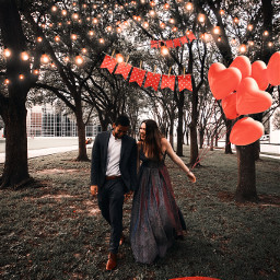 freetoedit love queen hearts vday valentinesday balloon couple