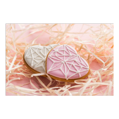 picsart hearts pink background freetoedit
