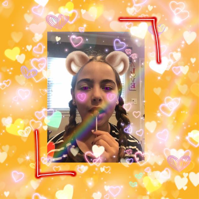 { Does anyone like it? } (tags) #love #v-day #myself #lollipop #bearears #😮😭💀 {friends} @uni-love55 @sleeper130