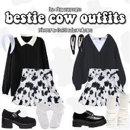 cowprint outfitinspo twinoutfits freetoedit