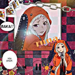 interesting anime runa baka freetoedit