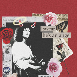 music redaesthetic roses pinkaesthetic pinkflower brianmay devilangel valentinesday happyvalentines paperaesthetic spaceboy freetoedit