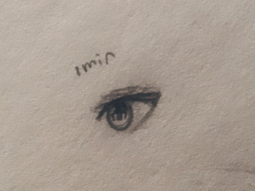 :D  #art #traditionalart #sketch #outline #drawing #eye #eyedrawing #eyesketch