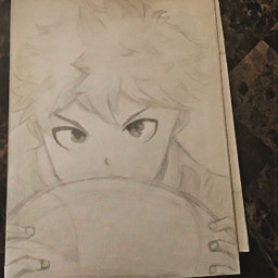traditionalart art sketch outline drawing haikyuu haikyuuart haikyuudrawing anime animeboy animesketch animeart animedrawing hinata hinatasketch hinatadrawing
