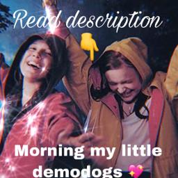 shoutoutstoeveryone strangerthings demodogs morningglory