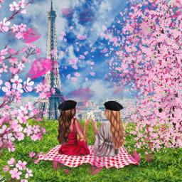 paris cityoflove spring flowers naturelover magicalplace srcfancyberet fancyberet