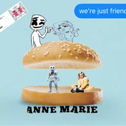 friends marshmello annemarie freetoedit