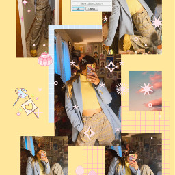 ootd fashion collage pastel interesting art namjoon freetoedit
