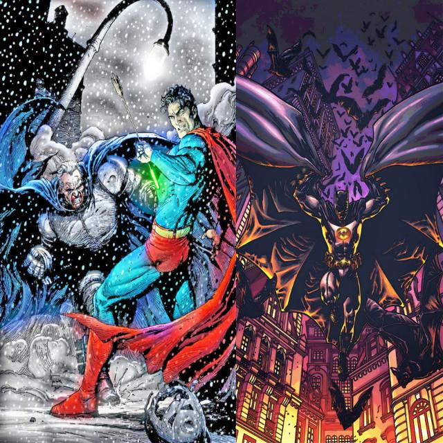 #freetoedit #madewithpicsart #remixit #dccomics #dceu #thedarkknightreturns #justiceleague #snydercut #batman #superman #kryptonite #gotham #metropolis #snow #winter #fight #bats #panel #night #batmanvsuperman #colorful