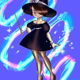 art artist myart artstyle artstudent witch witchoc oc magic fantasy fantasyart freetoedit