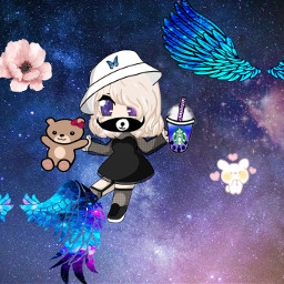 cutie galaxy freetoedit